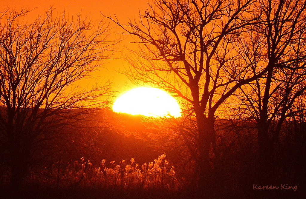 Kansas Sunset 11-22-15 by kareenking