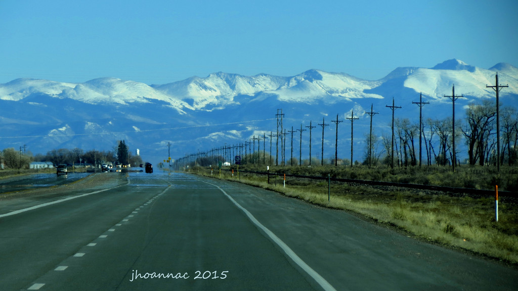 The open road  by carrieoakey