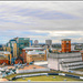 Panoramic Birmingham Cityscape