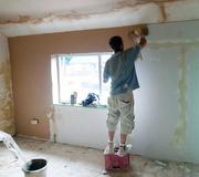 24th Jun 2014 - Front Bedroom Plastered....