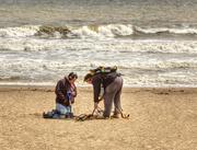 17th Jun 2014 -  Treasure Hunters on the Beach....