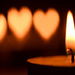 Bokeh hearts - #364