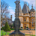 Wine Bottle Statue, Waddesdon Manor