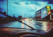 29th Nov 2015 - Driving in the rain