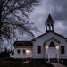 church in the blue hour by jackies365