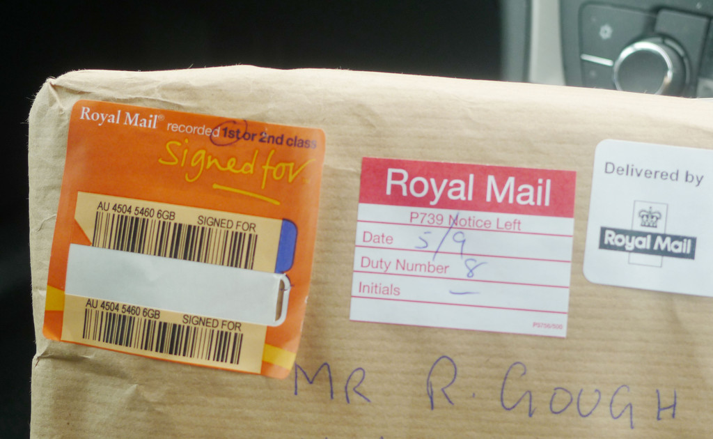 A Special Parcel..... by brickmaker