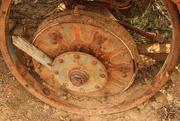 6th Dec 2015 - Rusty wheel