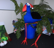 4th Dec 2015 - Pukeko in a Ponga Tree