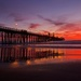 Sunset at Oceanside Pier  by jyokota