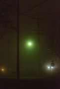 8th Dec 2015 - street lights and fog
