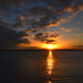 Sunset, Ashley River, Charleston Harbor, Charleston, SC by congaree