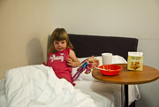 6th Sep 2011 -  Breakfast in Bed for Maddi.....