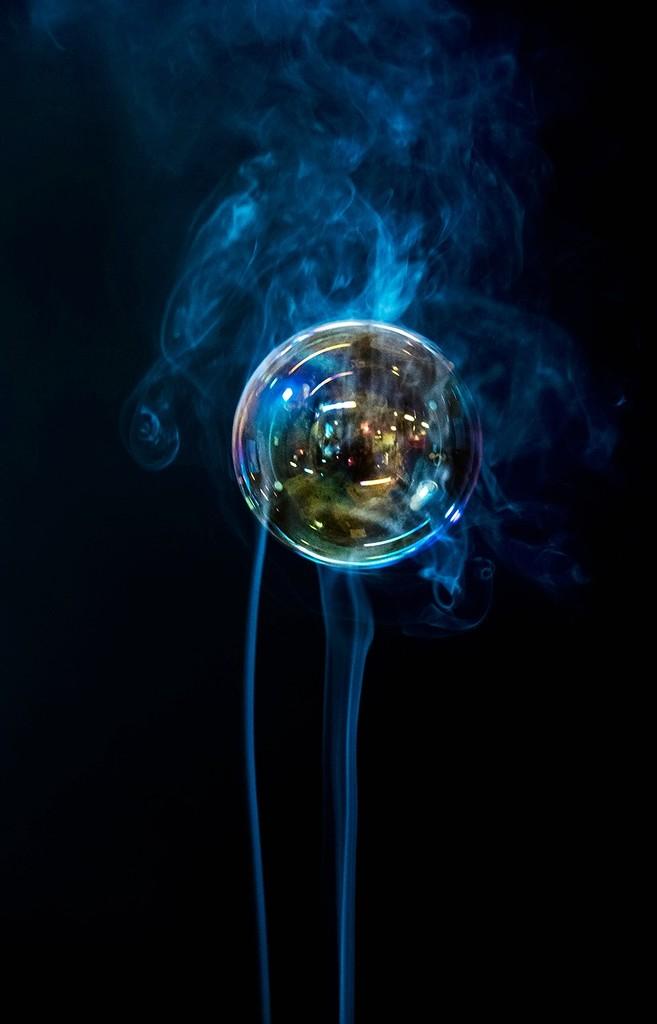 Bubble and Smoke  by jgpittenger
