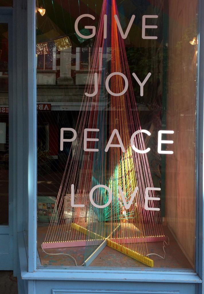 Joy Peace Love by brigette