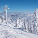 A beautiful day at the top of the mountain by kiwichick