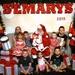 Grandkids with Santa