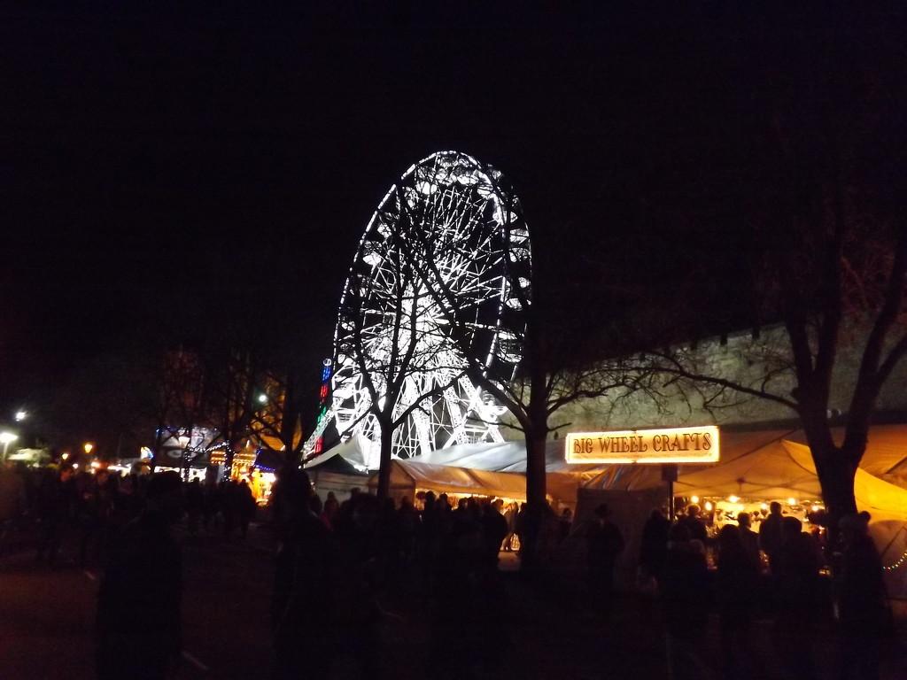 Lincoln Christmas Market by plainjaneandnononsense