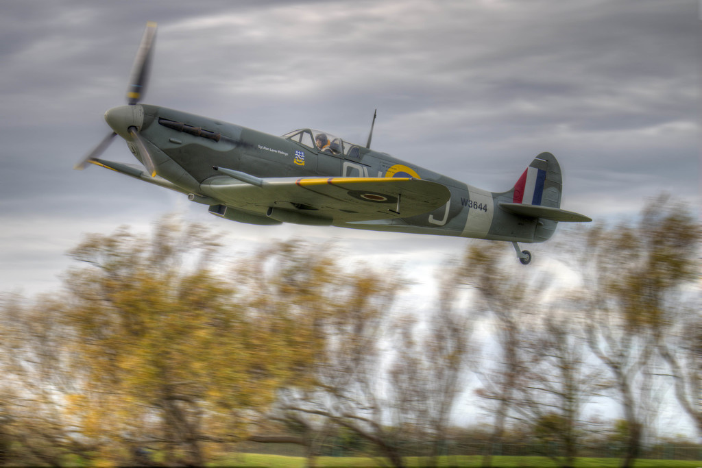 Spitfire at Lytham St Annes. by gamelee