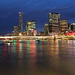Brisbane Cityscape at Night by terryliv