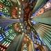 Looking up the Pipe Organ at La Sagrada by jyokota