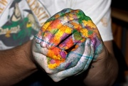 12th Aug 2008 - The Whole world in his Hands....