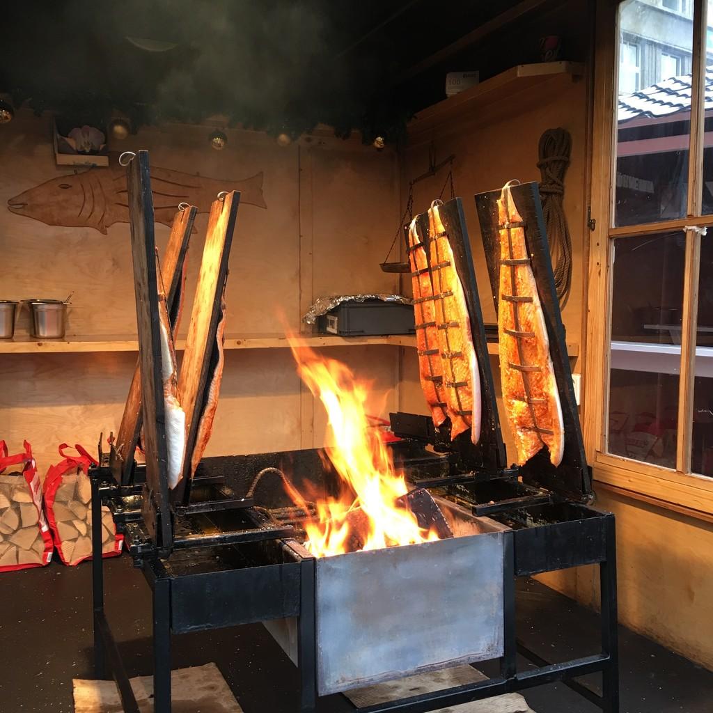 Smoked salmon anyone? by bizziebeeme