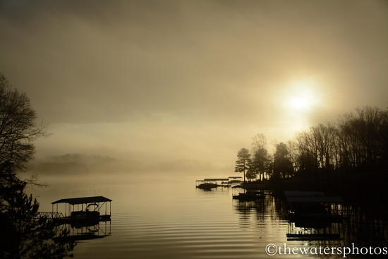 Early morning sunrise at the lake! by thewatersphotos
