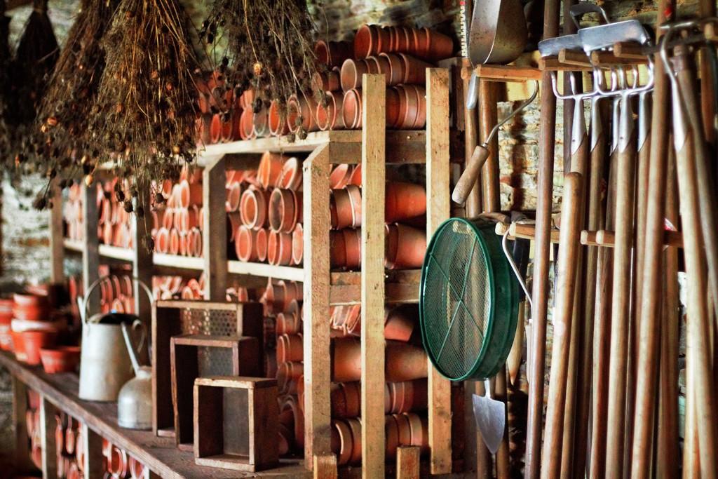 Potting shed.  by swillinbillyflynn