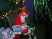5th Dec 2015 - Maddi and Santa....
