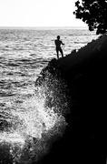 30th Dec 2015 - Net Fishing in Turbulent Waters