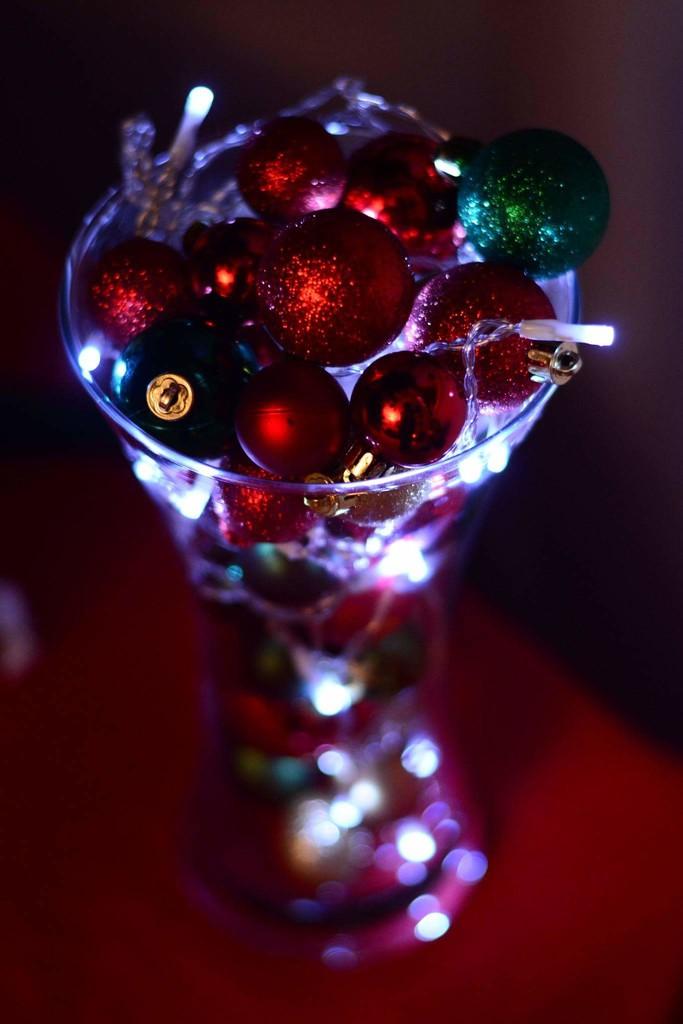 Christmas Bokeh for the Lounge by gailmmeek
