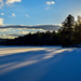 Shadows on snow by novab