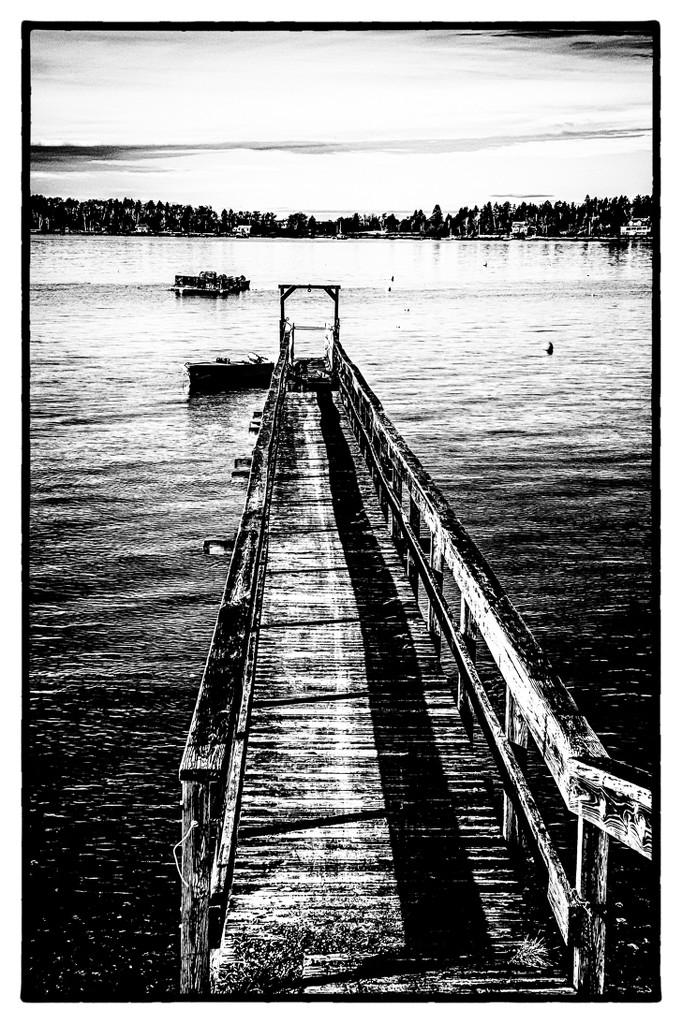 Down the dock by joansmor