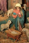 21st Dec 2015 - 150-year old Nativity set