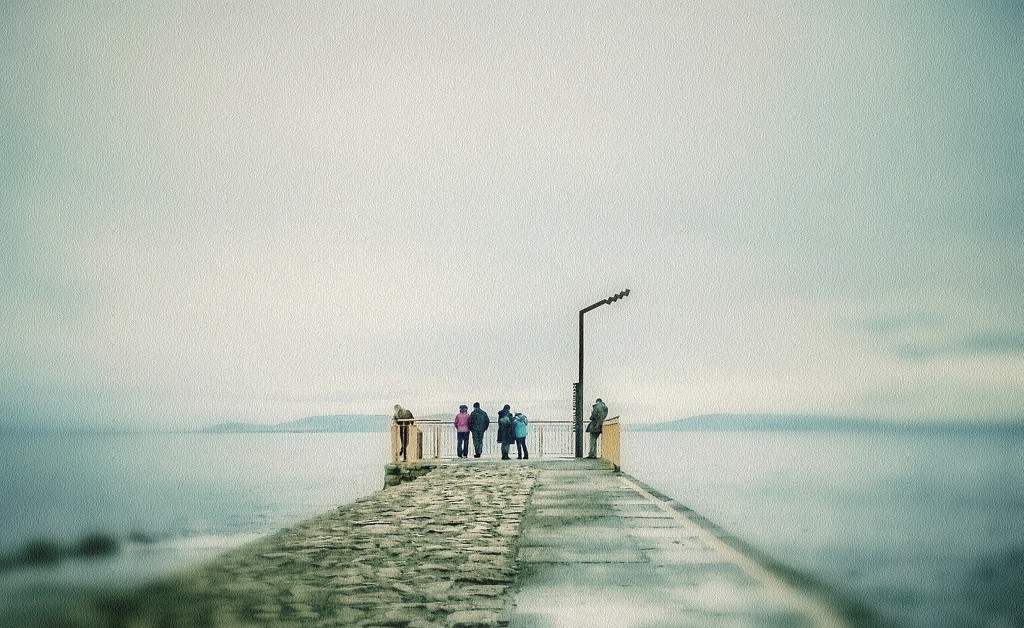 At the end of the pier. by jack4john