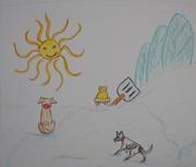 16th Jan 2016 - My Cartoon Winter.