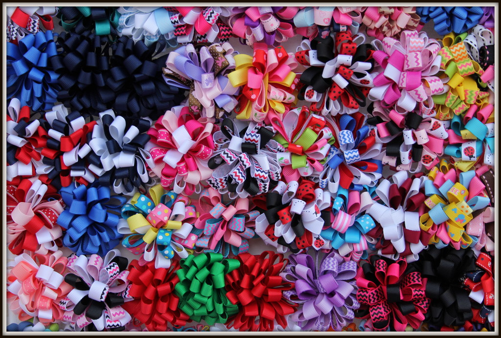 Rows & row of bows & bows by gilbertwood