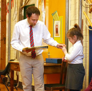 22nd Jan 2016 - Maddi Gets a School Award....