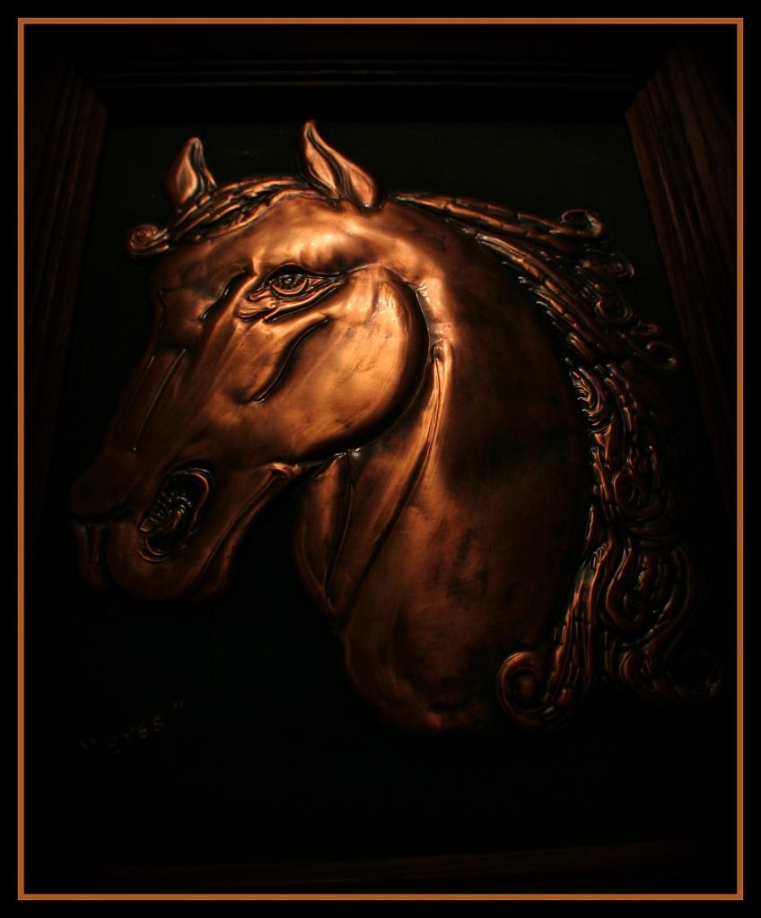 A Horse Named Eyes by digitalrn