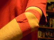 31st Jan 2016 - My Blood Drive Bandage