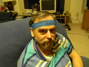 30th Jan 2016 - Dad with Headband Bandage
