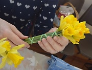 3rd Feb 2016 - Arranging a Few Flowers