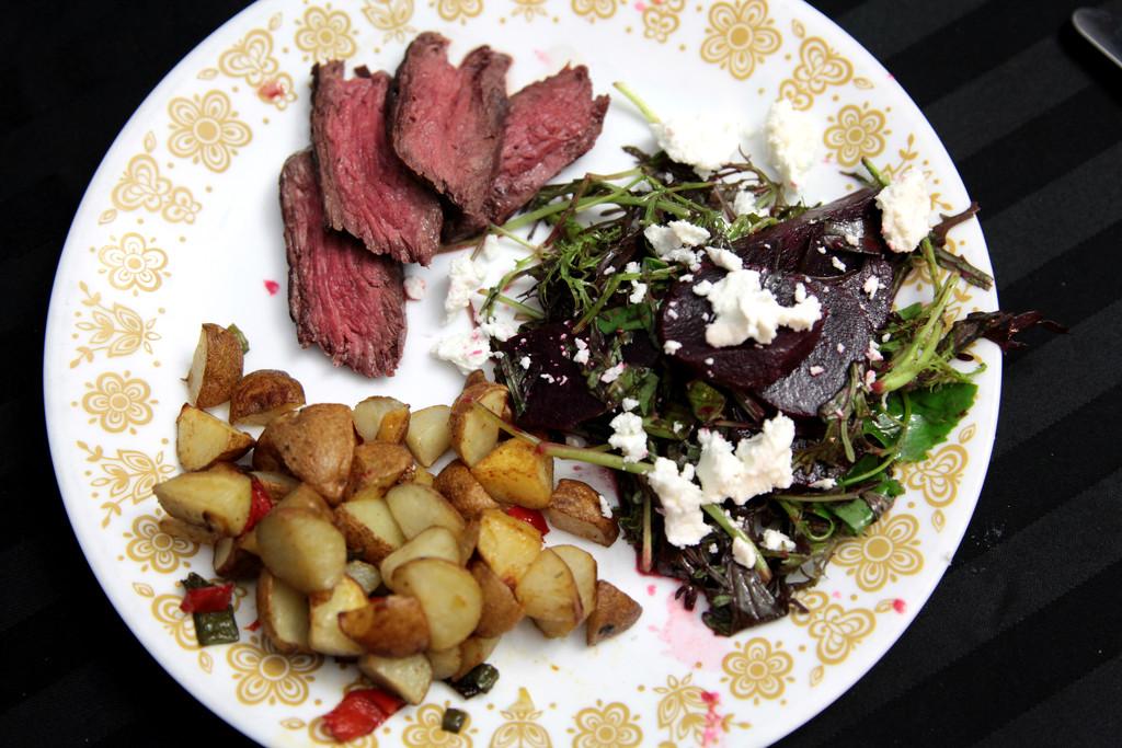 Steak, Beets, & Potatoes by steelcityfox
