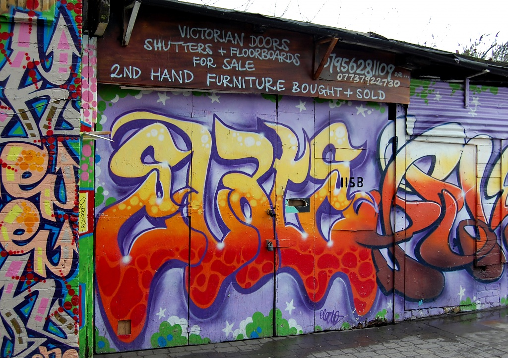 Graffiti Store by andycoleborn
