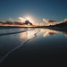 Blue sunset on Bournemouth beach by davidrobinson
