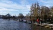 11th Feb 2016 - More flooding at Iffley Lock