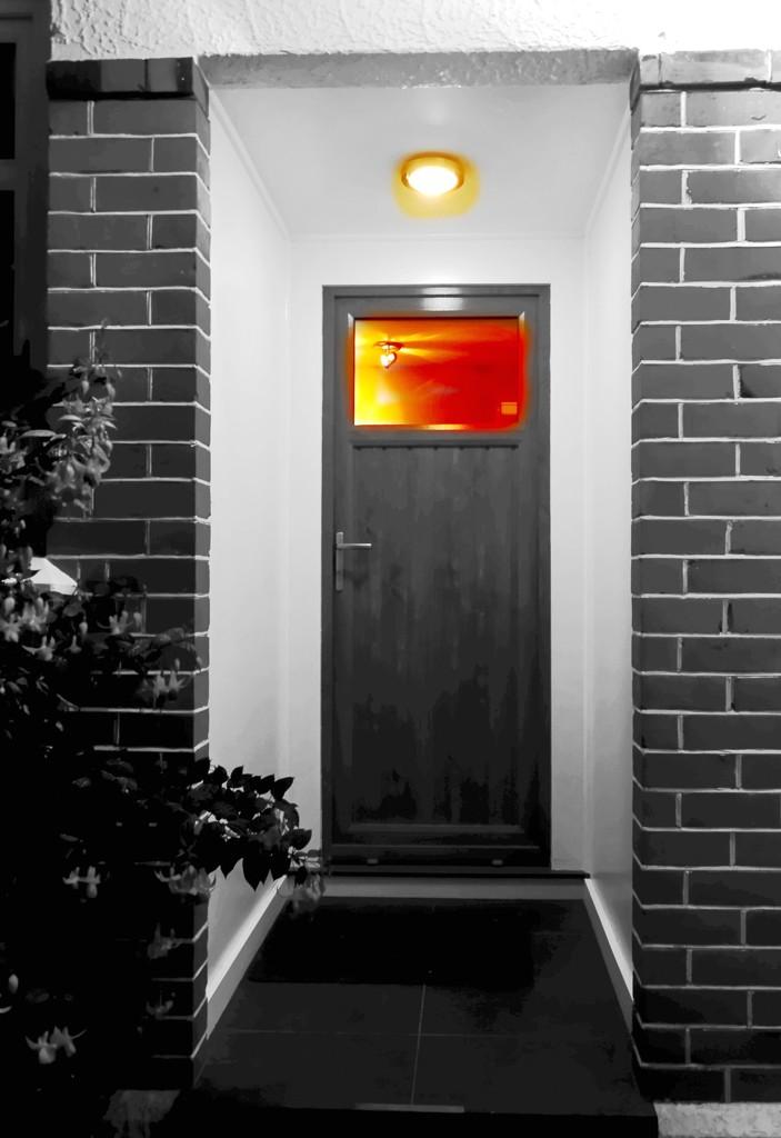 Back door welcome by maggiemae