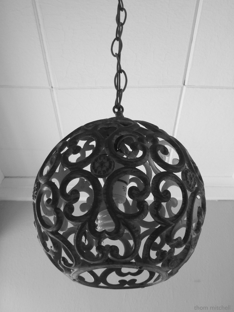Vintage fixture with CFL by rhoing