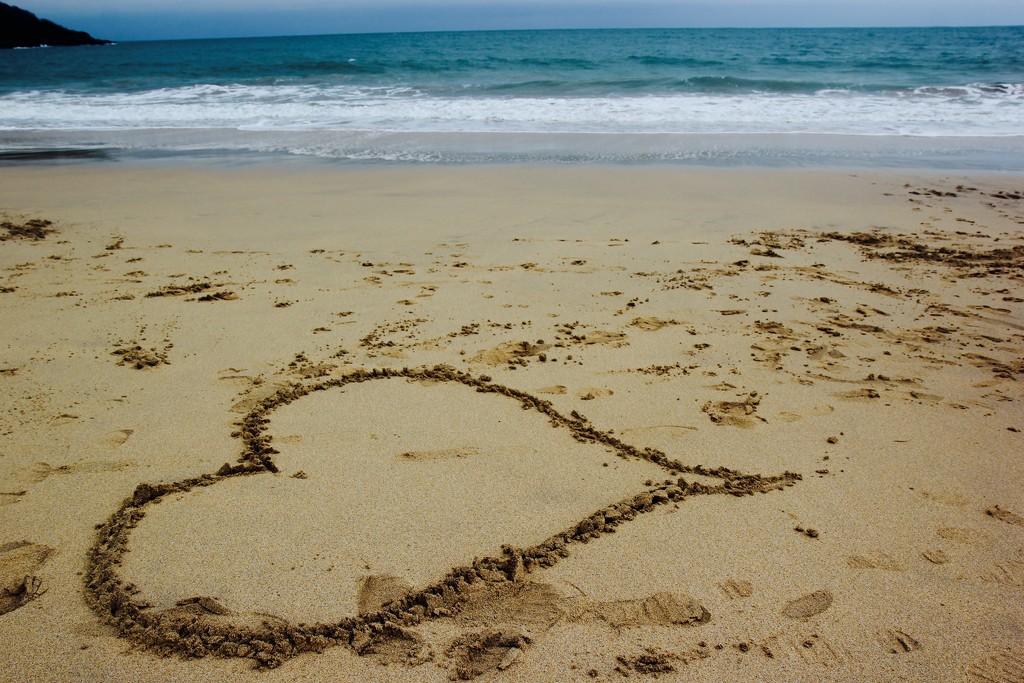 Valentine's Sand Art by cookingkaren