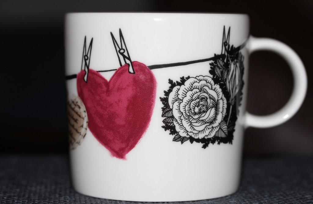 Cup of tea with love by susale